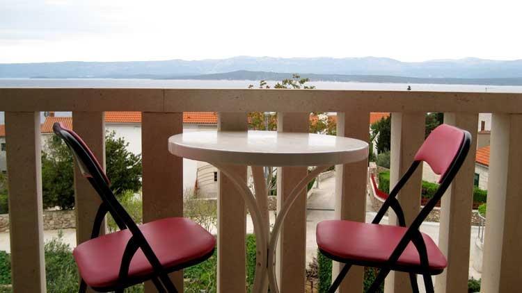 Crveni(2+2): terrace - 02001BOL Crveni(2+2) - Bol - Bol - rentals