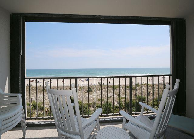 Station One - 3D Sink - Oceanfront condo with community pool, tennis, beach - Image 1 - Wrightsville Beach - rentals