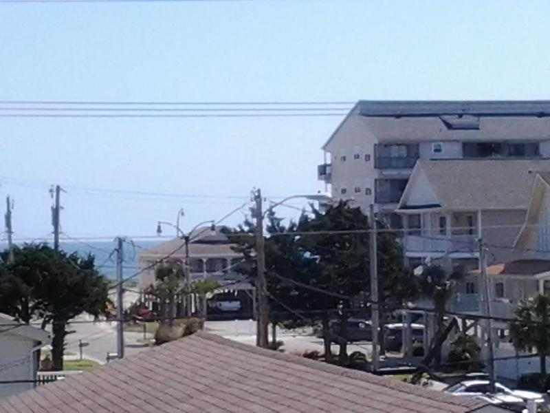 Ocean View from upper deck - WHOLE HOUSE AT RATES LISTED - North Myrtle Beach - rentals