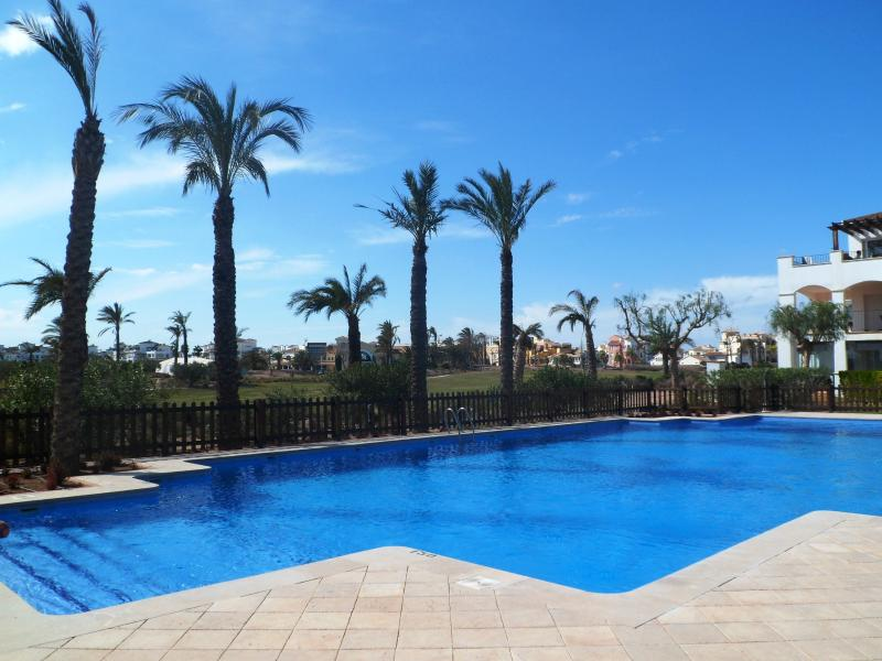 Swimming Pool Facing apartment - Golf holidays in Spain, your senior residence - Torre-Pacheco - rentals