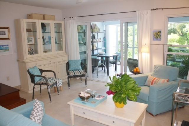 Open plan LR, DR, kitchen - Bijou. 2 bed 2 story Grace Bay townhome - Providenciales - rentals