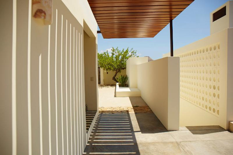 Entry, gated and enclosed yard and out door space - Casa Martinez - San Jose Del Cabo - rentals