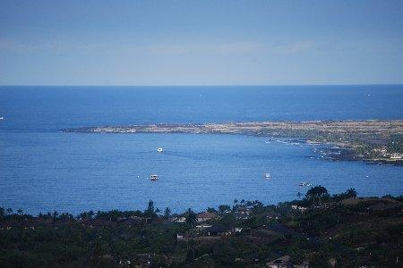 View of Kona Bay from the lanai. - Ginger House - Kailua-Kona - rentals