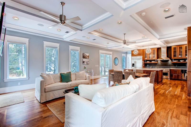 Put your feet up and relax in The Atticus - Exquisite Rosemary Beach home next to Barrett Square - The Atticus - Rosemary Beach - rentals