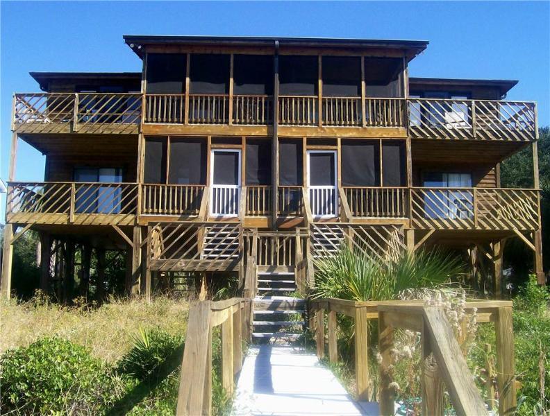 """3414A Palmetto Blvd - """"Dog House A"""" - Image 1 - Edisto Beach - rentals"""