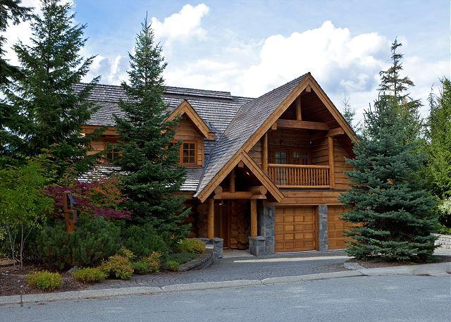Exterior View of Property - Horstman 4950 | Wood-Burning Fireplace, Mountain Views, Private Hot Tub - Whistler - rentals