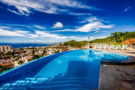 17,000 sq ft Casa Yvonneka with bay view infinity pool & full staff, near beach - Image 1 - Puerto Vallarta - rentals