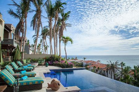 Highest rated Terraza 372-  superb Sea of Cortez view, steps to beach with amenities - Image 1 - Cabo San Lucas - rentals