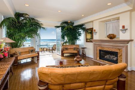 Beachfront Huntington Beach Luxury Villa offers an elevator and gourmet kitchen - Image 1 - Huntington Beach - rentals