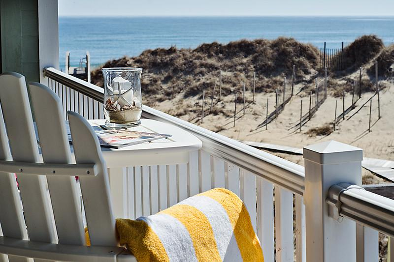 Ocean view - 2BR/2BA Premier Oceanside condo at First Flight Retreat Pool, spa, & More - Kill Devil Hills - rentals
