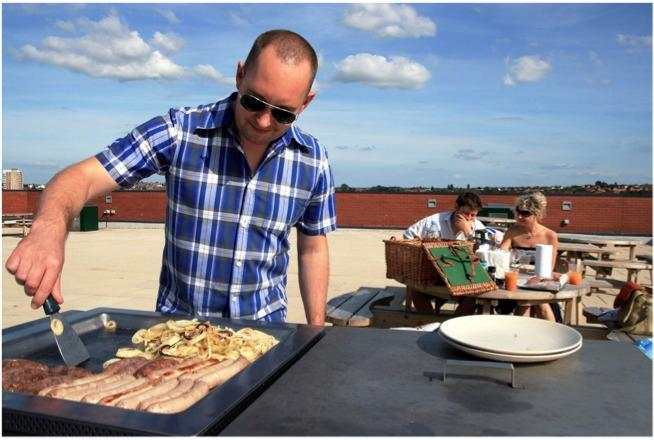 Rooftop BBQ - Double Room in Airpoint - Bristol - rentals