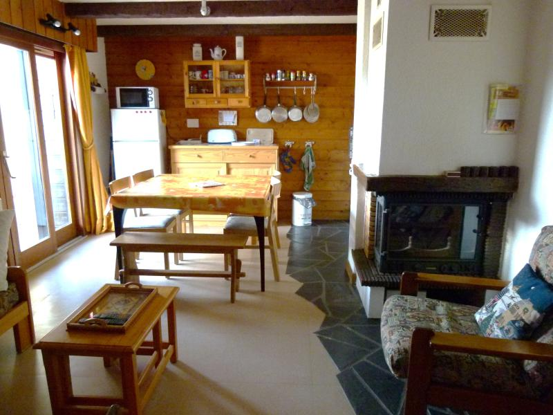living space - Chatel nice holiday flat + garage near ski slopes - Chatel - rentals