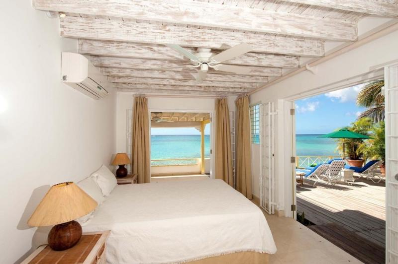 Second bedroom downstairs - Idyllic 3bed Mullins Beach house, amazing sea view - Mullins - rentals