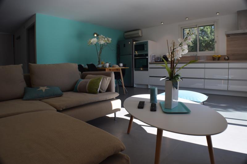 Villa garden plan apartment near great beaches! - Image 1 - Porto-Vecchio - rentals
