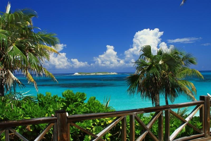 View From Deck - Bahamas Castaway-Fantastic Beachfront Villa with Amazing Views-Pink Sand Beach - Eleuthera - rentals