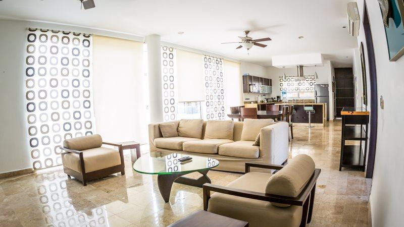 2 Bedroom Penthouse at Mamitas Beach! - Image 1 - Playa del Carmen - rentals