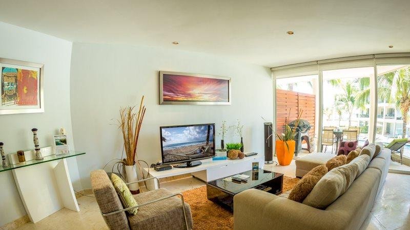 2nd floor, ocean view condo at The Elements - Image 1 - Playa del Carmen - rentals