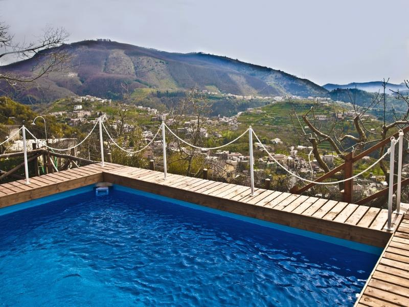 Charming 3 bedroom villa with pool near Sorrento - Image 1 - Vico Equense - rentals
