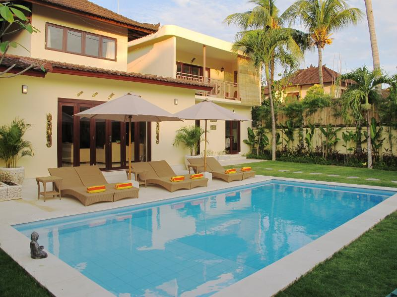 Aisha III, New Build 5 Bedroom Villa, Central Seminyak - Image 1 - Seminyak - rentals