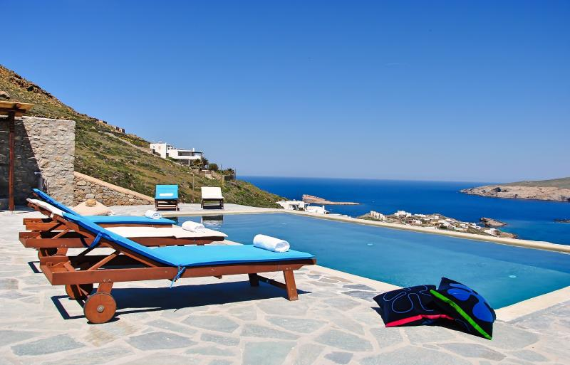 Relax and enjoy the infinite blue - Relaxing Sea View to the Aegean Sea! - Mykonos - rentals