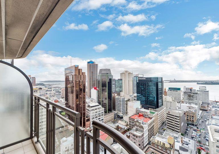 Spectacular views north over the city and harbour - Great Views Serviced Apartment Hotel Acommodation in Auckland City - Auckland - rentals
