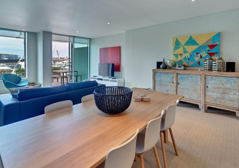 90sqm stylish waterfront apartment - Lighter Quay North One Bedroom Apartment Viaduct Harbour Auckland. - Auckland - rentals