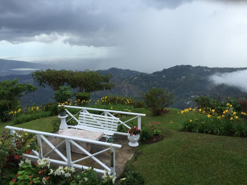View from the garden - 5-bed home in the Blue Mountains, Jamaica - Blue Mountains National Park - rentals