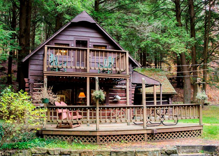 Your Cabin By The Stream, Close to Cherry Springs State Park - Log Cabin,Close to Cherry Springs State Park - Coudersport - rentals