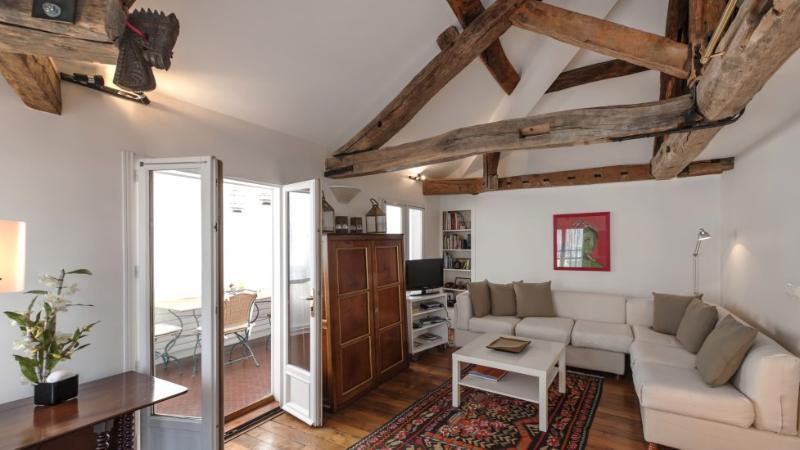 One bedroom Large Veranda  Paris Saint Germain des Pres district (549) - Image 1 - Paris - rentals