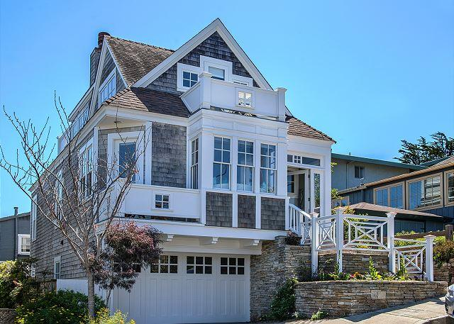 3688 Nautilus ~ Ocean Views from the Decks! Luxurious Beds! Walk to Town! - Image 1 - Pacific Grove - rentals