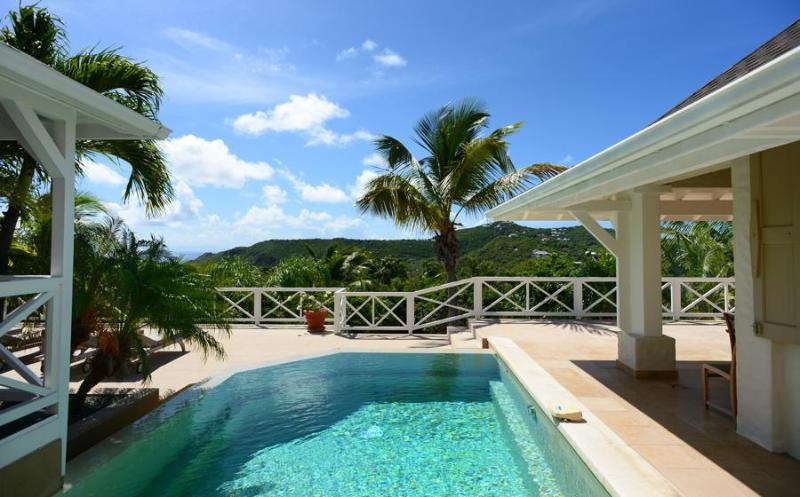 Set in the lush hillside, enjoy incredible views! - Image 1 - Saint Jean - rentals