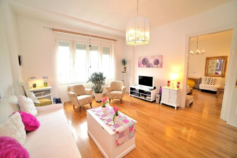 Spacious and bright living room - Downtown Apartment - Zagreb - rentals