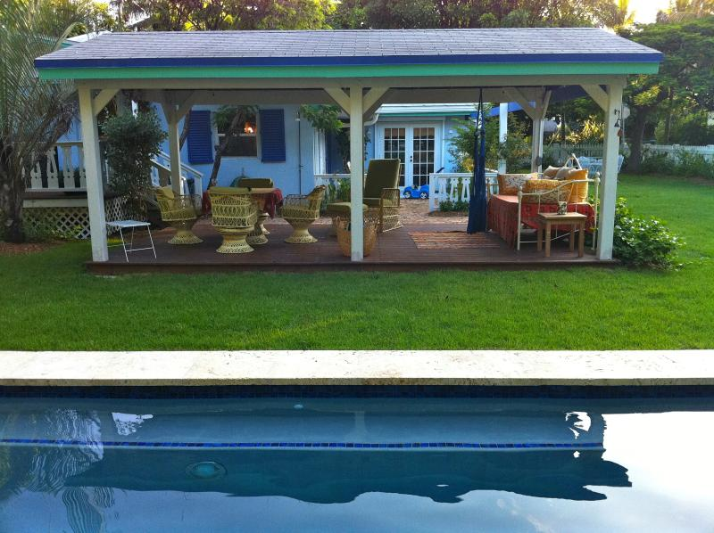 Pergola and pool - Sunny Haven Islamorada - Islamorada - rentals