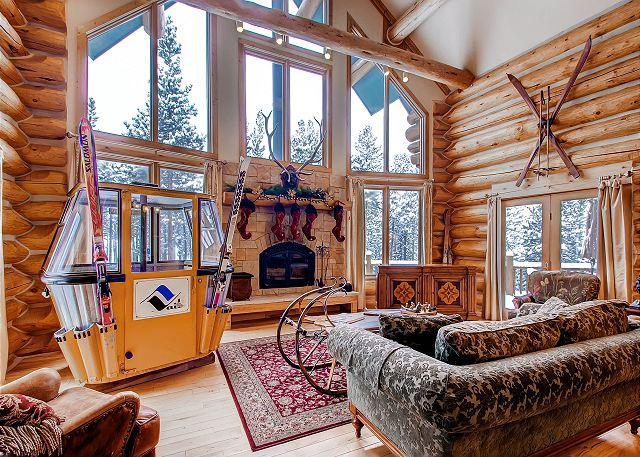 Scki Classic Lodge - 7200 square feet of ideal ski-in/ski-out mountain fun! - Breckenridge - rentals