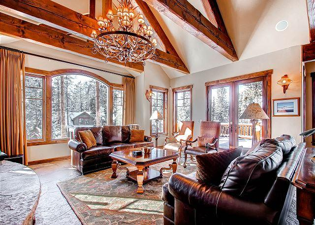 Rustic Timber Lodge - This Custom Built Home Provides Unique Amenities and Excellent Views! - Breckenridge - rentals