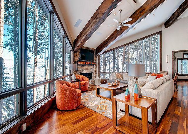 Grand Vista Lodge - Breckenridge Modern Mountain Chic Boasts Stunning Views of Town and Beyond - Breckenridge - rentals