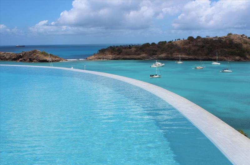 Villa Sugar Mill at Galley Bay Hill, Antigua - Ocean View, Pool, Rooftop Garden - Image 1 - Five Islands Village - rentals