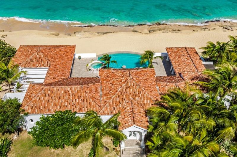 Carisa at Baie Rouge Beach, Saint Maarten - Beachfront, Pool & Jacuzzi, Media - Image 1 - Terres Basses - rentals
