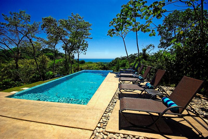 PoolChairs&View - Villa Encantada - Dominical - rentals
