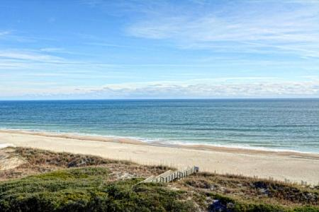 View from Balcony - ST. Regis 3511 - North Topsail Beach - rentals