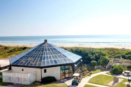 View From Private Balcony - ST. Regis 1211 - North Topsail Beach - rentals
