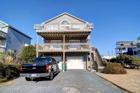 Exterior - 501 S. Shore Drive - Surf City - rentals