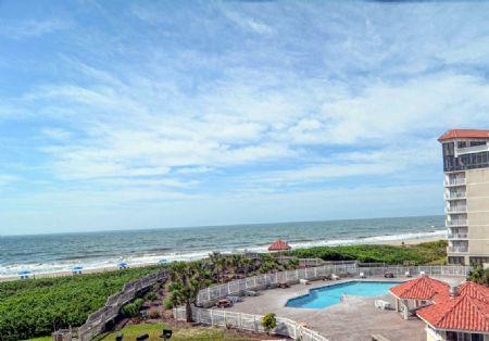 View from Balcony - ST. Regis 3203 - North Topsail Beach - rentals