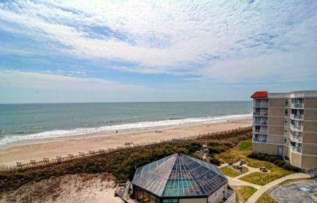 Oceanfront Balcony, Top Floor Views - ST. Regis 2604 - North Topsail Beach - rentals