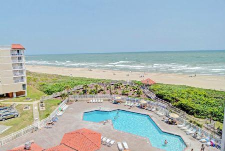 Balcony View - ST. Regis 2612 - North Topsail Beach - rentals