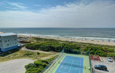 Ocean View from Balcony - ST. Regis Resort 3513 - North Topsail Beach - rentals