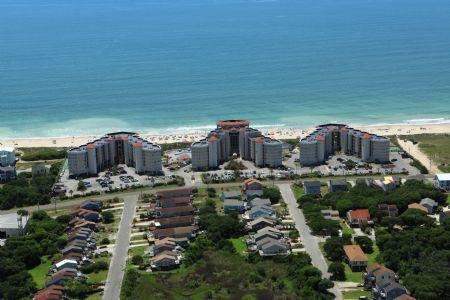 Aerial View 2 - ST. Regis 1311 - North Topsail Beach - rentals