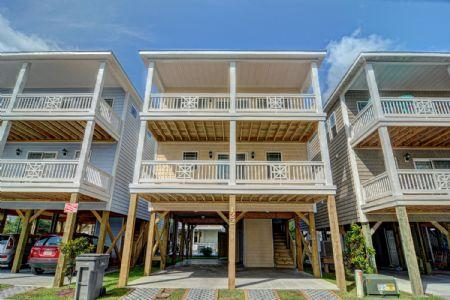 Exterior View - 122 Coastal Cay - Surf City - rentals