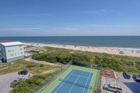Balcony View - ST. Regis 3512 - North Topsail Beach - rentals