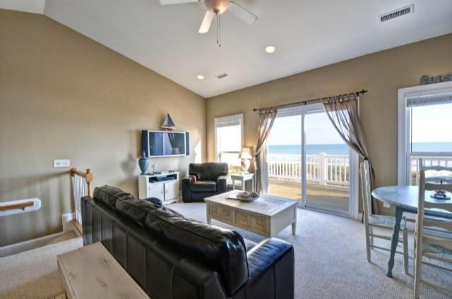 Living / Dining Areas - 310 Sea Star - Surf City - rentals